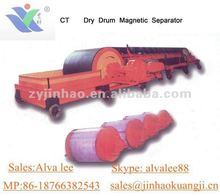 Hot selling dry magnetic roller for belt conveyor in removing stones,separation ores