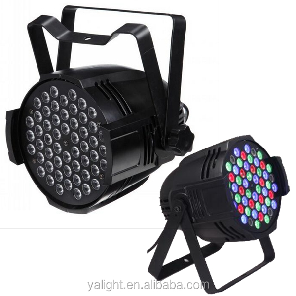 Factory price rgbw 4in 1 54x3 led stage par can,54pcs 3w rgbw led par for dj disco bar club night