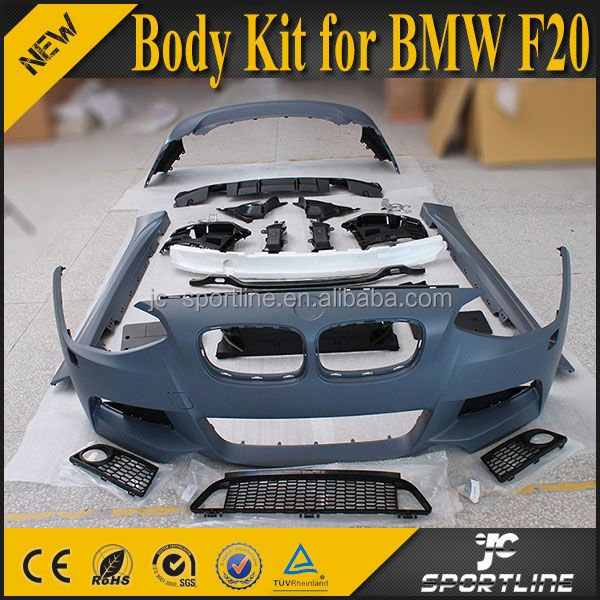 New 1 Series F20 M TECH Body Kit Car Bumper For BMW F20 2012-2014