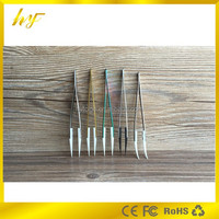 use for electronic cigarettes atomizer, precision machinery ceramic tip stainless steel tweezers