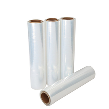 Water proof large black thick plastic wrap roll stretch film malaysia