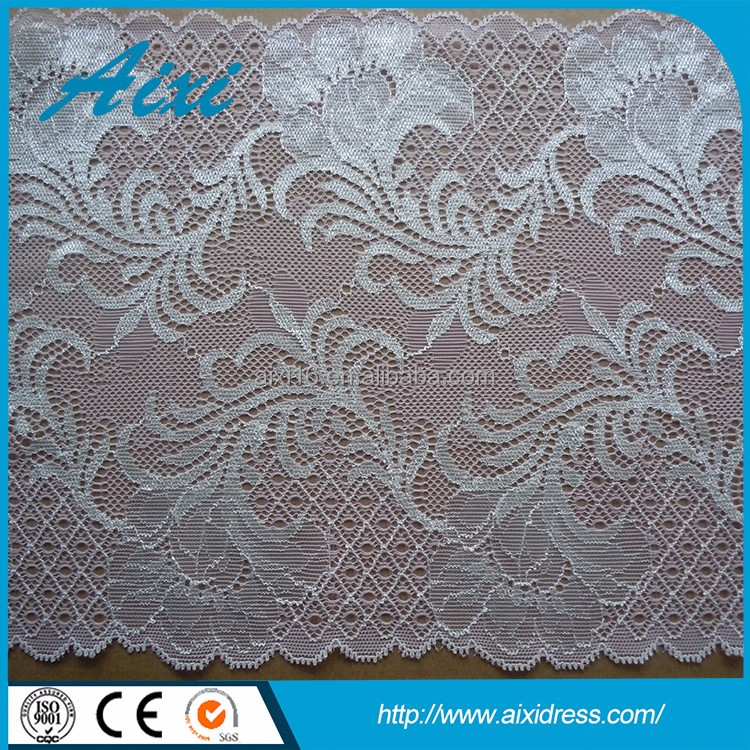 Austrian embroidery designs flower lace garment accessory lace trimming ladies suits lace design