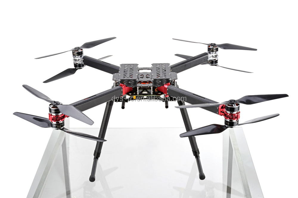DYS High-end Octocopter take-off weight 4-10kg D800-X8 with Retractable Landing Gear for larger gimbal and cameras