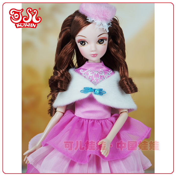 Nes design 2015 11.5 inch vinyl doll Fashion lovely girl doll for kid