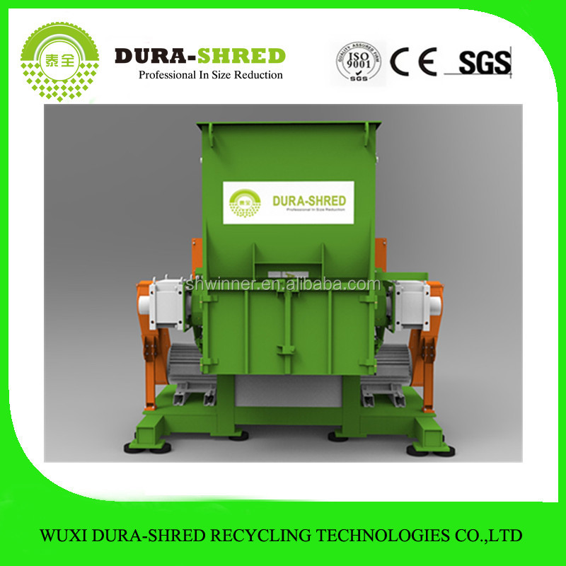 Safe used tire recycling chipper shredder for UAE