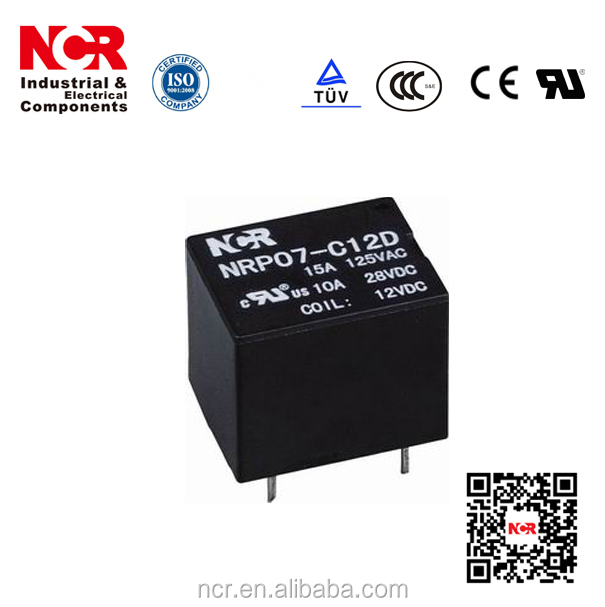 5V Relay / 12A Electric relay Relay (NRP07/T73)