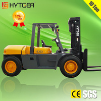 Latest 10Ton Diesel Forklift Truck with Cabin