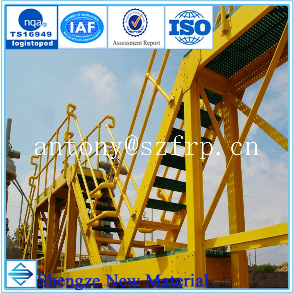 High strength and light weight FRP fence frp guardrail