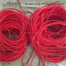 high perfermance good quality rubber tupe red silicone tupe