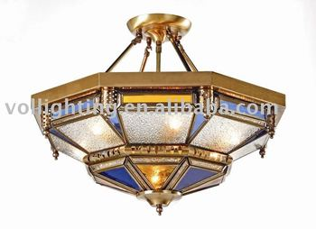 High Quality Moroccan Brass Pendant Lighting Hanging Lamp