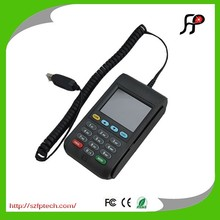 Credit card reader with magnetic strip and smart card reader pinpad