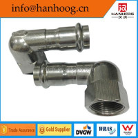 SS304 forged pipe fitting stainless steel female angle adaptor inox manufacturer