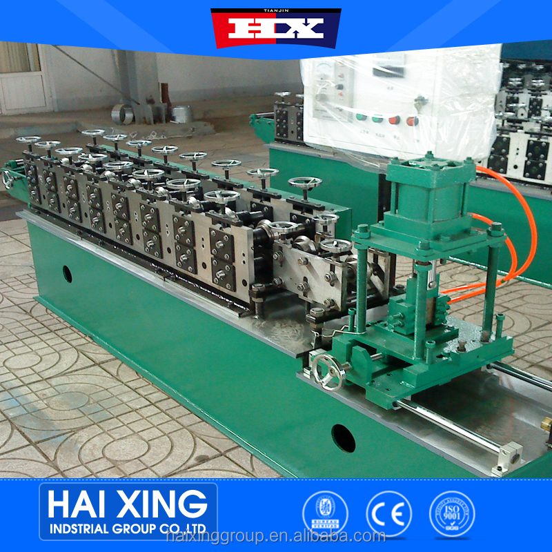 Full automatic drywall metal stud and track roll forming machine with touch screen