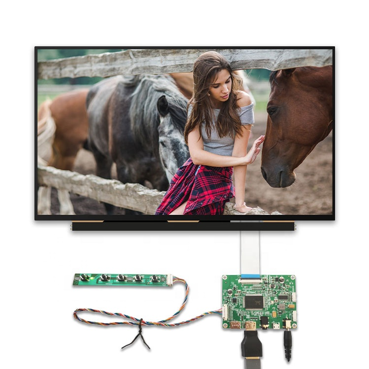 hdmi edp 40 pin 4 lane full hd lcd screen 13.3 inch 2560x1440 2k controller driver board slim ips panel display