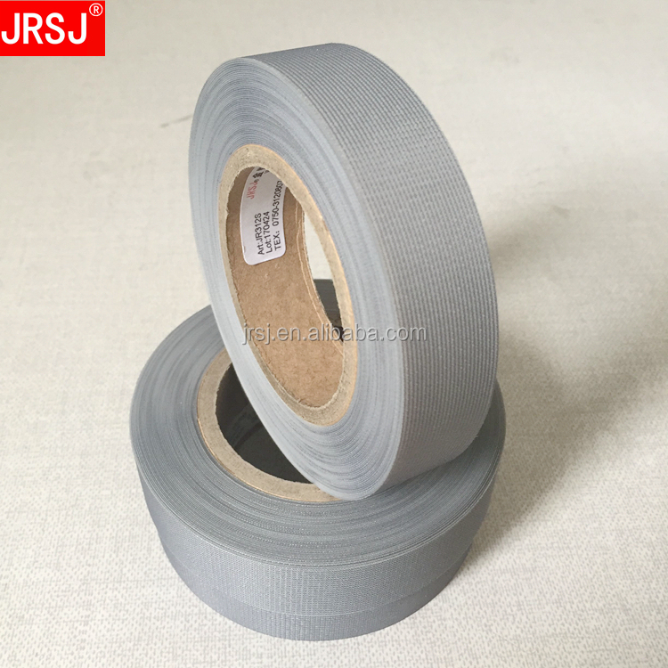 Made in China free sample white hot melt fabric seam binding tape