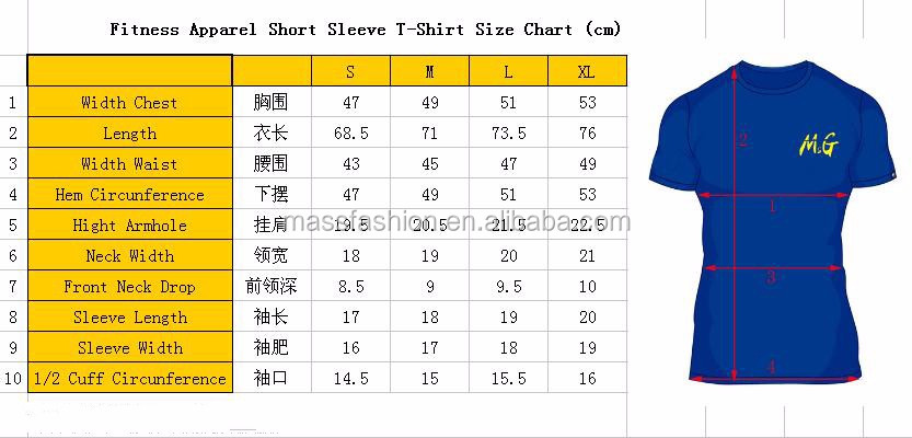 Cheap Plain Men's Athletic T Shirts Fitness Apparel For Men