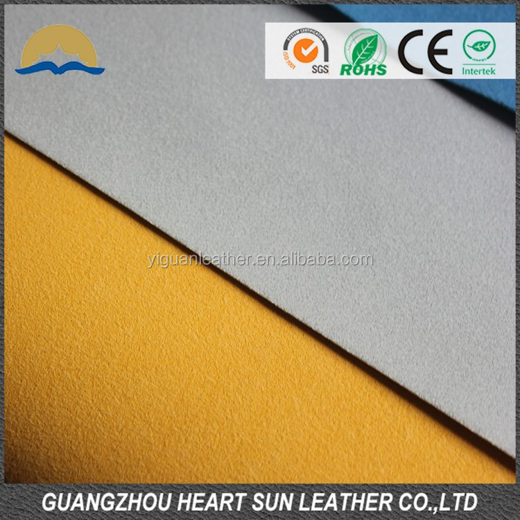 2015 100% soft pu synthetic lining material for shoe with coagulated backing