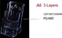 A4 A5 A6 multi layers plastic injection brochure holders