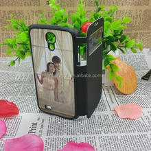 Sublimation wallet case cell phone case for samsung galaxy S4