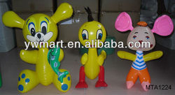 PVC inflatable animal toys for sale, inflatale mouse toys