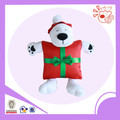 Christmas toys plush material toys stuffed pet dog doll