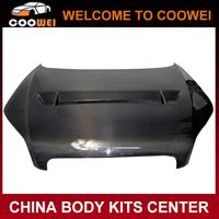 Premium Car hood carbon fiber engine hoods fit hoods 08-12 8J body for A-UDI TT TTS style