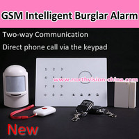 New GSM alarm system, APP to control,Quad band,Direct phone call via the keypad,Two way communication