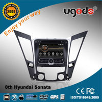ugode double din DVD player for Hyundai Sonata 2010-2013 AD-6096