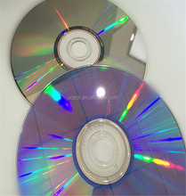 factory supplier offer 100pcs shrink wrapped pack 52x CD-R blank 700MB cds
