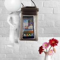 pvc cell phone waterproof case for huawei transparent plastic bag for huawei waterproof mobile phone case