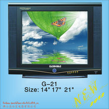 television cheap 21 inch crt tv, cheapest 17 inch CRT TV