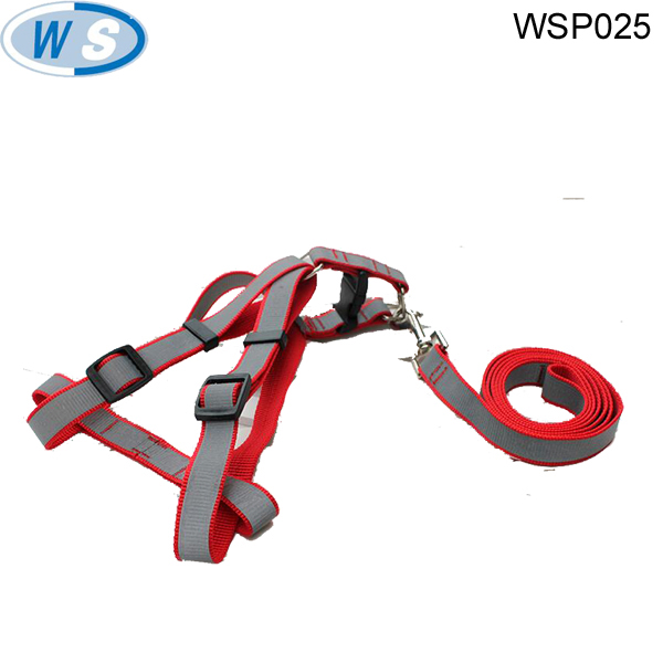 Wholesale Reflectable fashion dog harness durable chest dog leash and colloar for best quality low price