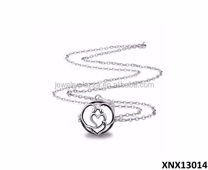 Swril Flower Sterling Silver 6 To 8mm Pearl Cage Locket New Pearl Cage Pendant