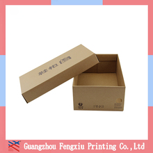 Cheap OEM Printed Corrugated recyclable Cardboard Gift Box for shoe packaging