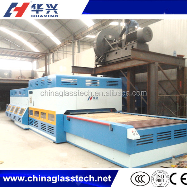 CE approved flat horizontal mini tempering furnace