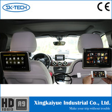 Chinese Wholesale Universal 9 Inch widescreen Car Headrest Monitor with MHL input