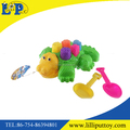 Interesting colorful beach cartoon crocodile toy