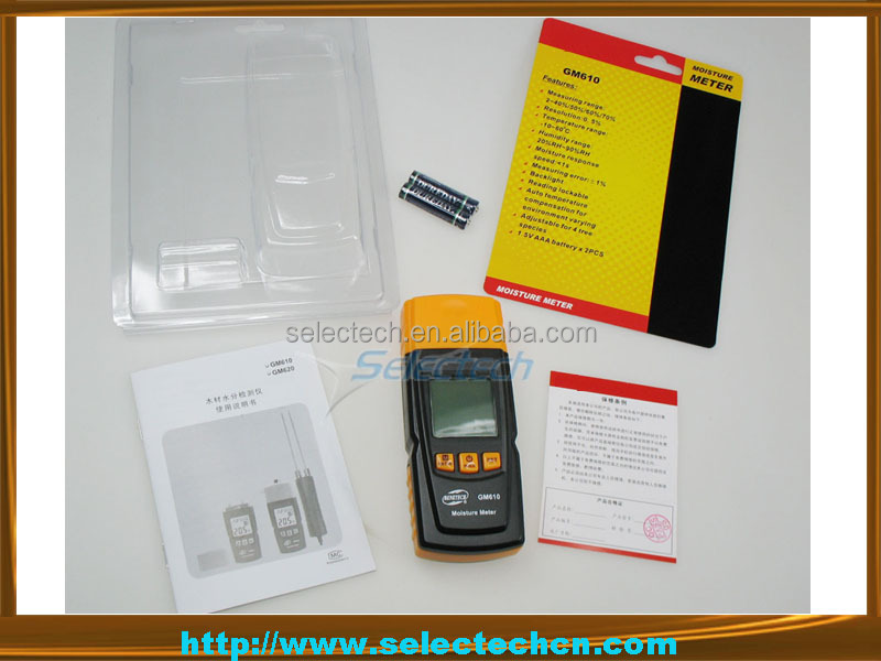 Newest portable Digital Wood moisture meter for wood