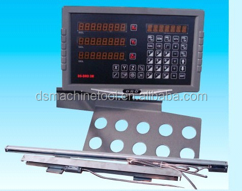 multifunctional digital readout with 3 linear scales