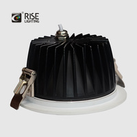 15W COB led lamp waterproof recessed lamp led cutout 130mm diameter for bathroom kitchen room lighting