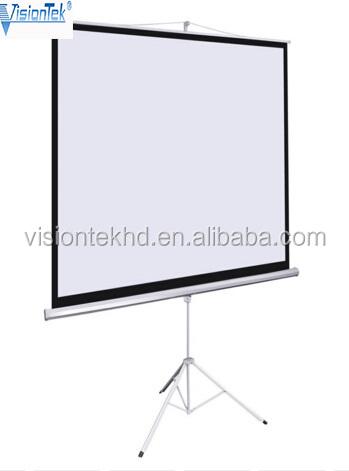 Electric floor projector screen 1 1 100inch projector for Motorized floor up screen