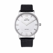 luxury leather odm quartz wrist watch