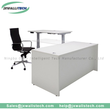 Three motors 3 segments electric office metal height adjustable desk frame