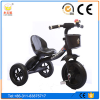 Tricycle for Children with 2-6 years old, with Feet Power 3 wheels bicycle with pedal and Eco-friendly Materials