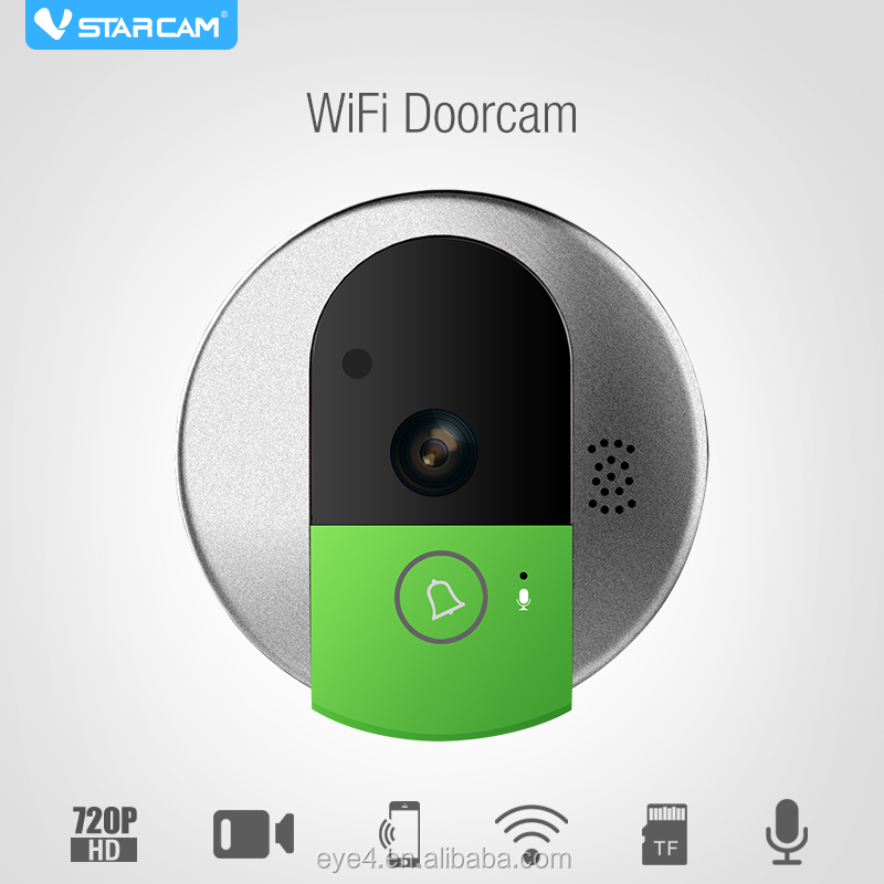 2016 newest smart home doorbell wifi door bell wireless P2P IP video doorbell