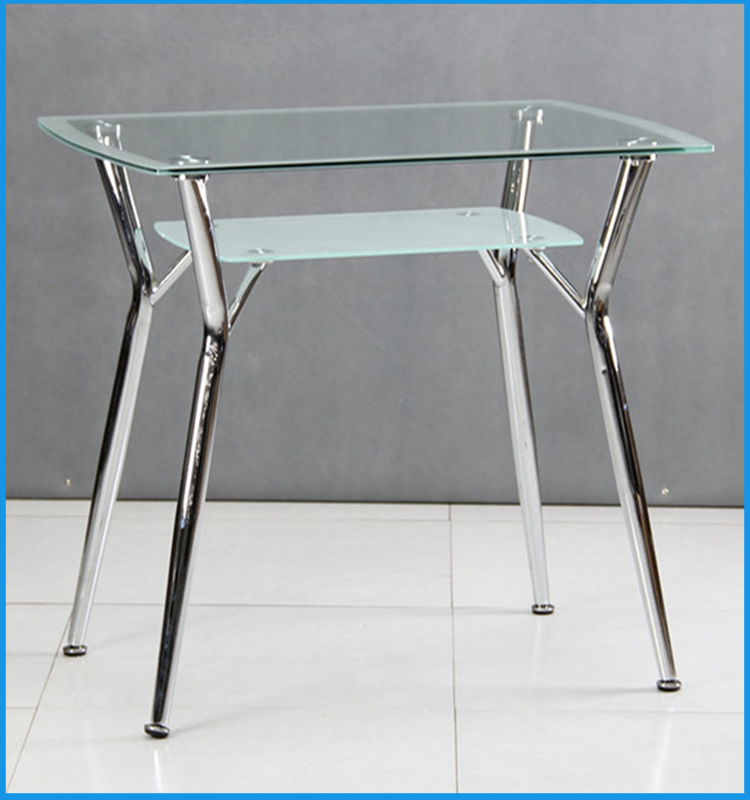 4 seater tempered glass dining table and chair view 4 for 12 seater glass dining table