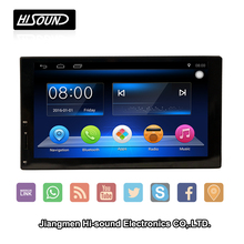 Wholesale price 2din 7inch used car radios touch screen with GPS BT 1080P SWC