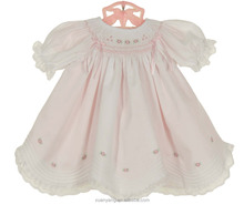Baby fancy dress photo Cotton frocks designs of Little girl princess pink flower dresses