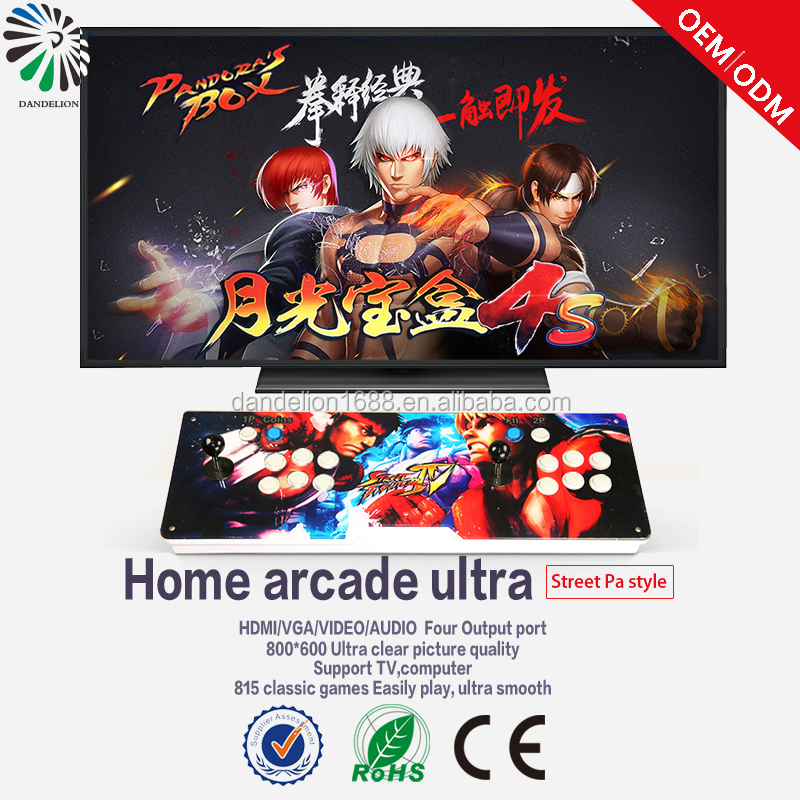 hot sale Arcade Pandora box 4 Video Game Console panel for TV/PC