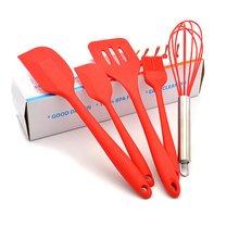 Silicone kitchenware baking tools set kitchen Utensils sets
